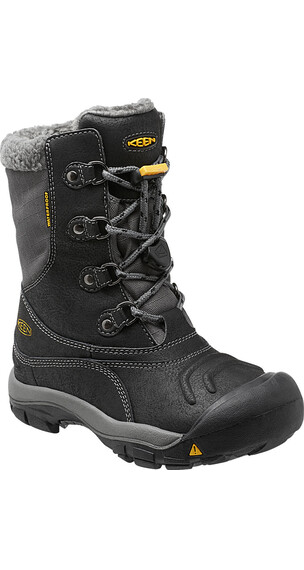 Keen Basin WP Boots Kids Black/Gargoyle